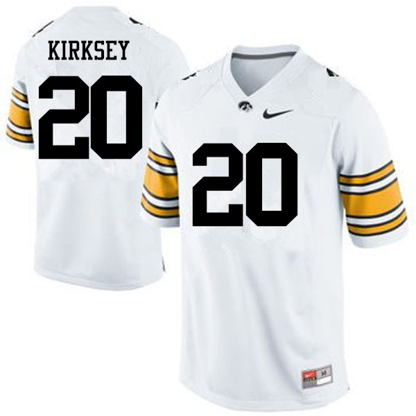 Men Iowa Hawkeyes #20 Christian Kirksey College Football Jerseys-White